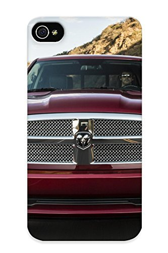 Crooningrose 6526f073541 Case For Iphone 4/4s With Nice 2014 Dodge Ram 1500 Laramie Limited Crew Cabpickup Appearance (Dodge Iphone 4s Case compare prices)