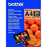 Brother Premium Glossy Photo Paper: BP61GLA (BP61GLA)