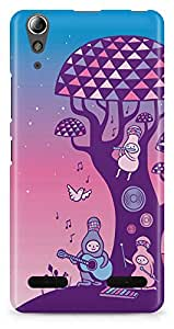 Lenovo A6000 Plus Back Cover by Vcrome,Premium Quality Designer Printed Lightweight Slim Fit Matte Finish Hard Case Back Cover for Lenovo A6000 Plus