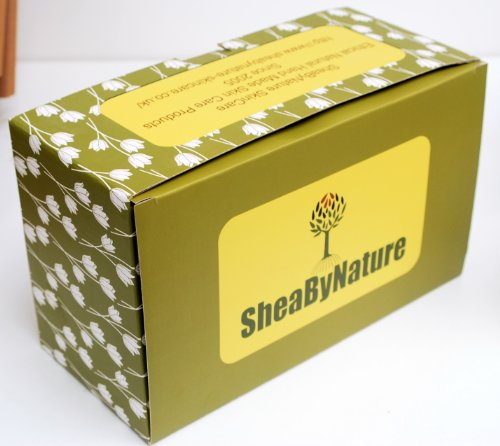 Gift Boxed Natural Body Cream or Lotion Making Kit - Learn How to Make Your Own Natural Body Cream. Makes 5 Pots. From SheaByNature