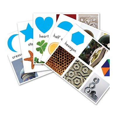 Easy Learning Skill Cards Shapes