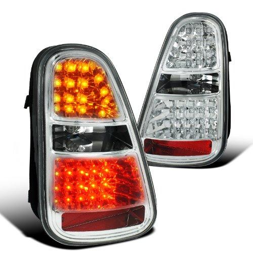 Mini Cooper S Chrome Led Tail Lights Brake Reverse Signal Lamp