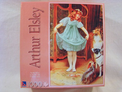Arthur Elsley 1000 Piece Jigsaw Puzzle: The New Dress