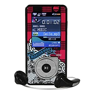Monster High 4GB Digital MP3 Player - Pink (59048)