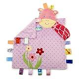 Taggies - Peek a Boo Giraffe Baby Blanket