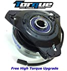 Replaces John Deere OEM UPGRADE 240 245 260 265 285 Lawn Tractor Electric PTO Blade Clutch - with Upgraded Bearings 1.125 CRANKSHAFT ONLY