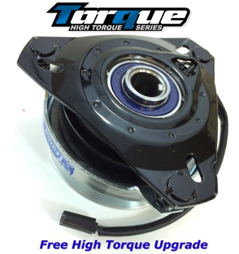 Replaces John Deere OEM UPGRADE 240 245 260 265 285 Lawn Tractor Electric PTO Blade Clutch - with Upgraded Bearings 1.125