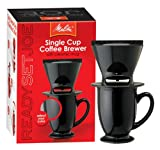 Melitta Ready Set Joe/Mug 64010 Coffee Makers Speciality, Black