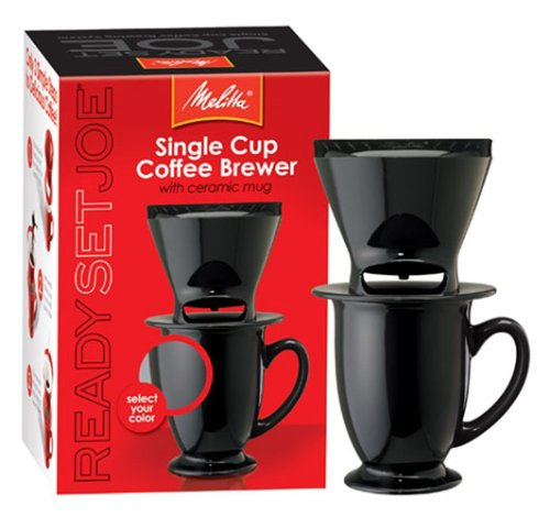 Cyber Monday Melitta Ready Set Joe/Mug 64010 Coffee Makers Speciality Deals