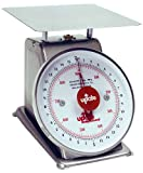 Update International UPS-72 Stainless Steel Analog Portion Control Scale, 2-Pound