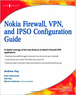 Nokia Firewall, VPN, and IPSO Configuration Guide available at Amazon for Rs.5634.75