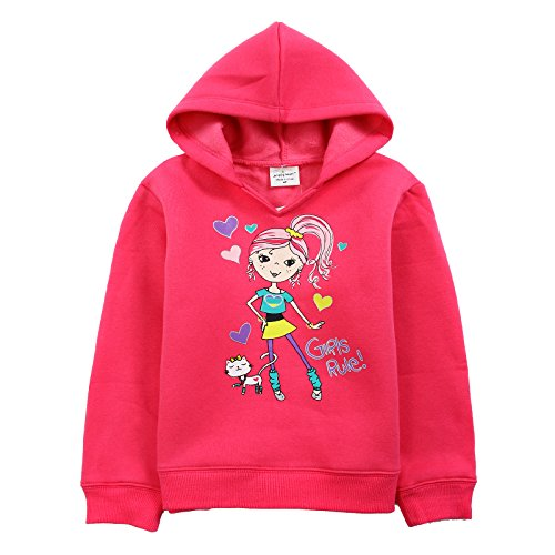 [Neighbor Girl Children Baby Pretty Little Princess and Cat Guards sweatshirts Hooded (2-7 Years)] (Color Guard Costumes Rental)