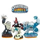 Skylanders Giants - Standard Figures - Triple Deal - Fright Rider / Terrafin / Slam Bam