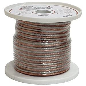 Pyramid RSW16100 16 Gauge 100 ft Spool of High Quality Speaker Zip Wire