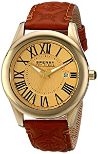 Sperry Top-Sider Women's 10014930 Lynnbrook Analog Display Japanese Quartz Brown Watch by Sperry Top-Sider Watches MFG Code