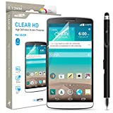 Lg G3 Screen Protector Sentey® Clear Hd High Definition 0.12mm (Pack of 3) Ls-14501 Bundle with Free Metal Stylus Touch Screen Pen {Lifetime Warranty}