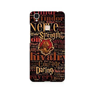 TAZindia Designer Printed Hard Back Case Cover For Vivo V3 Max