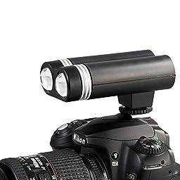 DAFALA Camera Photo & Video Shooting LED Lamp (Black) Hot Shoe