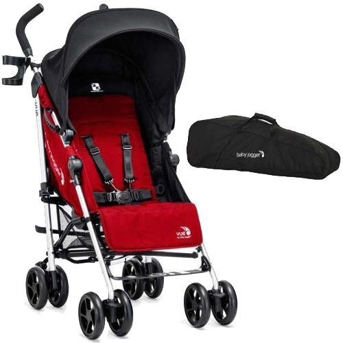 Baby-Jogger-Vue-Stroller-With-Carry-Bag-Red