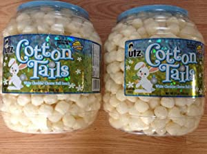 Cotton Tails White Cheddar Cheese Ball Snack UTZ ( 2 Pack )
