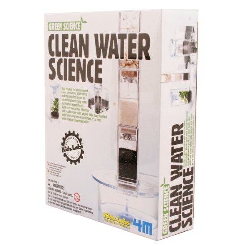 Toysmith 4 M Clean Water Science #4572