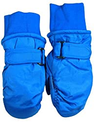 Winter Warm-Up - Little Boys Ski Mittens, Royal 33066-onesize