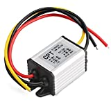 DROK® Waterproof High Efficiency Car Power Converter DC12V to 6V/3A Step Down Voltage Module 9-22V to 6V Power Supply
