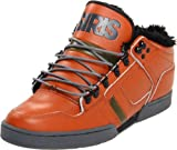 Osiris Nyc 83 Mid Shearling Boys Rust Brown/Beach/Charcoal Boys 4uk