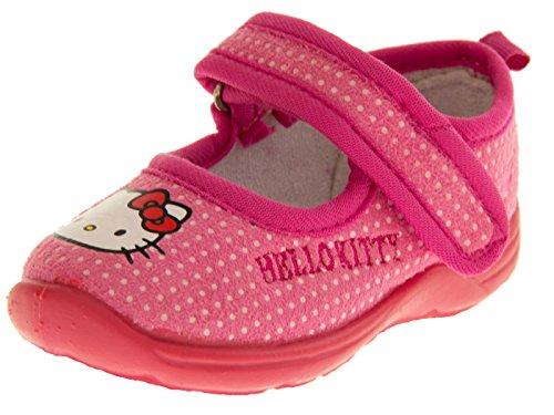 Hello Kitty Bambina Polkadot Rosa Synthetic Chiuse Davanti EU 26