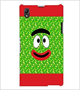 PrintDhaba Cartoon D-4741 Back Case Cover for SONY XPERIA Z1 (Multi-Coloured)