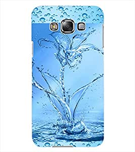 ColourCraft Water Flower Design Back Case Cover for SAMSUNG GALAXY GRAND 3