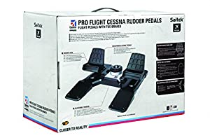 Saitek Pro Flight Cessna Rudder Pedals für PC (USB 2.0)