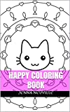 Happy Coloring: Funny and Happy Coloring Templates for Kids and Grownups (Happy coloring book, funny and disney coloring book for kids and coloring books for grownups 1)