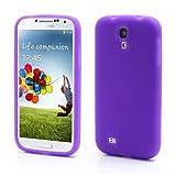 Viola Custodia in Silicone per Samsung Galaxy S4 (GT-i9500 / i9505 LTE / i9502 Duos / Google Edition / S4 Value...