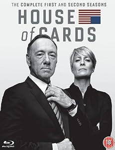 House of Cards - Season 1-2 [Blu-ray] [2014] [Region Free]