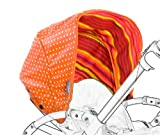Poplico Reversible Canopies for Bugaboo Bee+ (Pumpkin/ Orange)