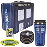 Doctor Who TARDIS Tin Tote Gift Set - SDCC Exclusive Case