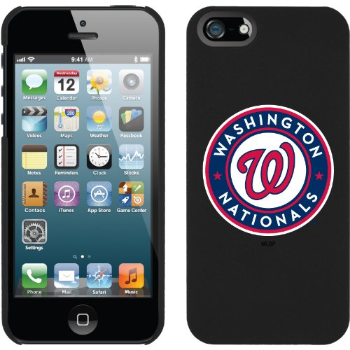 Great Sale MLB Washington Nationals iPhone 5 Snap-On Case - Black