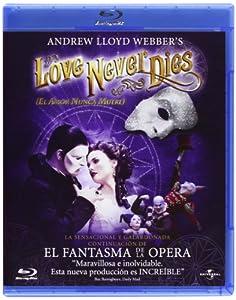 El Amor Nunca Muere (El Musical) [Blu-ray]
