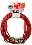 Pet Champion 30-Feet Tie Out Cable for Dogs Up to 125-Pound