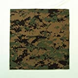 Woodland Digital Camo Bandana 27 X 27