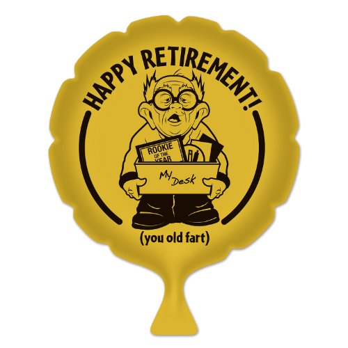 Beistle 54267 Happy Retirement Whoopee Cushion, 8-Inch front-785245