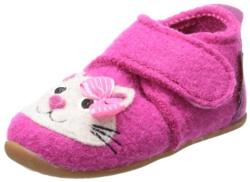 Giesswein Varel Slippers Girls Pink Pink (himbeer 364) Size: 19