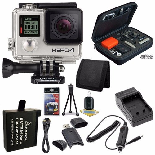 Gopro Hero4 Silver Ahdbt 401 Replacement Lithium Ion