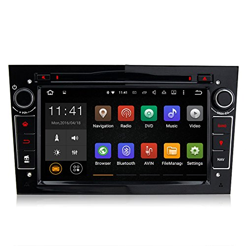 A-Sure-Android-511-quad-core-GPS-Wifi-BT-USB-DVD-Autoradio-fr-OPEL-Astra-H-Corsa-Zafira-B-Meriva-Mirror-link-DAB-Schwarz