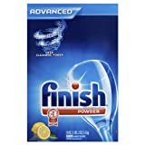 Finish Powder, Lemon Fresh, 50-Ounce