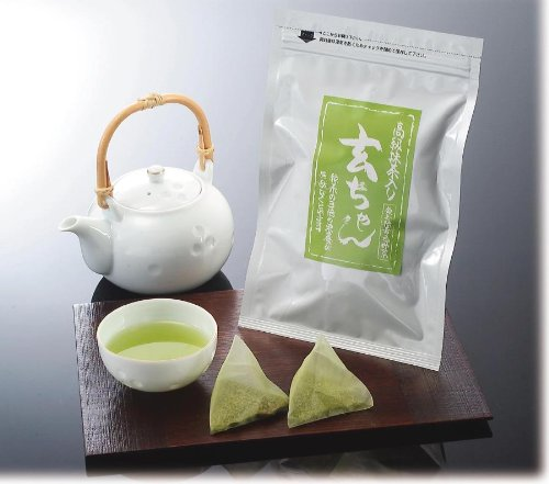High-quality Matcha genmaicha 'Gen-Chan' 6 bag set (triangular tea bag 120 pieces)