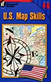 img - for U.S. Map Skills Homework Booklet, Grades 4-6 (Homework Booklets) book / textbook / text book
