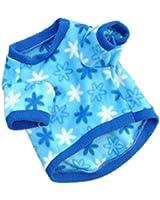 Etosell t-shirt Manches Courtes en Molleton Chaud pour Petit Animaux XS S M L