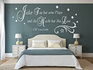 Farben fur die wand schlafzimmer - Spruche furs schlafzimmer ...